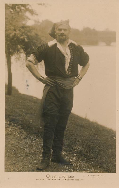"Oliver Crombie as Sea Captain in ""Twelfth Night"""
