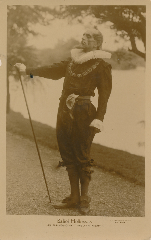 "Baliol Holloway as Malvolio in ""Twelfth Night"""