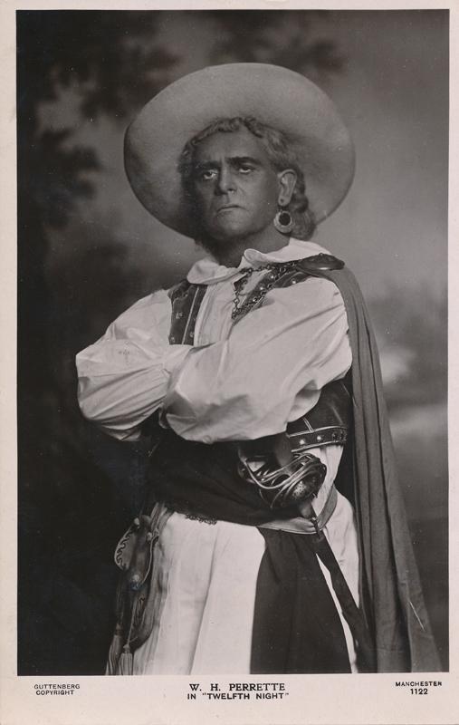 "W. H. Perrette as Antonio in ""Twelfth Night"""