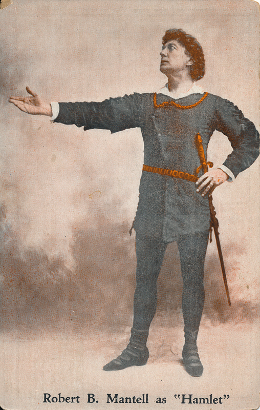 "Robert B. Mantell as Hamlet in ""Hamlet"""