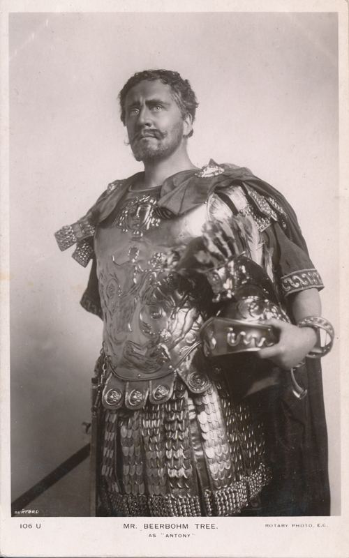 "Herbert Beerbohm Tree as Antony in ""Antony and Cleopatra"""