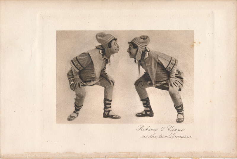 "Robson & Crane as the two Dromios in ""The Comedy of Errors"""