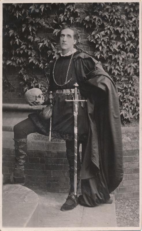 "Frank Benson as Hamlet in ""Hamlet"""