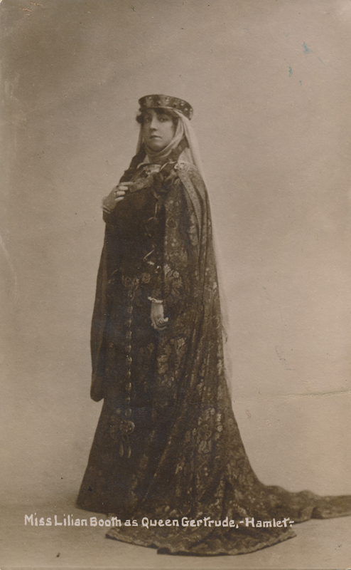 "Lilian Booth as Queen Gertrude in ""Hamlet"""