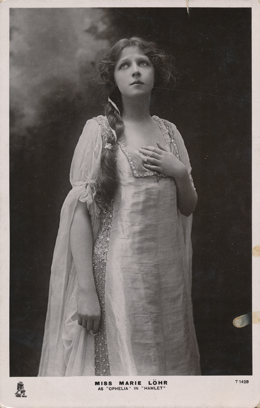 "Marie Lohr as Ophelia in ""Hamlet"""