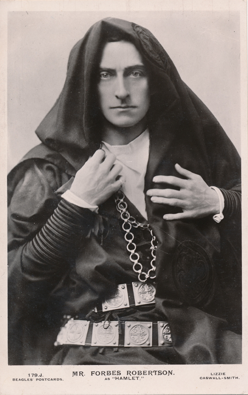 "Johnston Forbes-Robertson as Hamlet in ""Hamlet"""