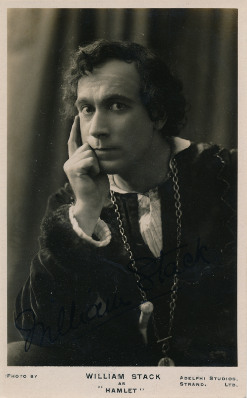 "William Stack as Hamlet in ""Hamlet"""