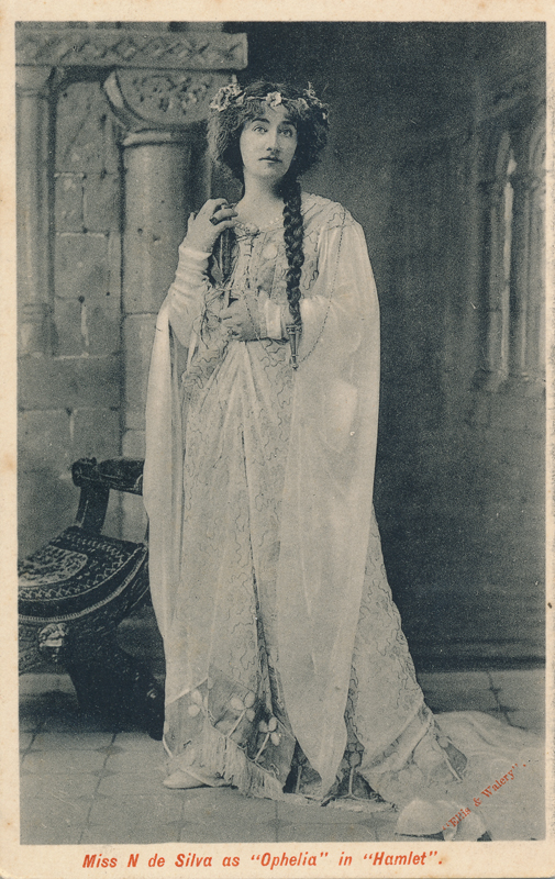 "Nina de Silva as Ophelia in ""Hamlet"""