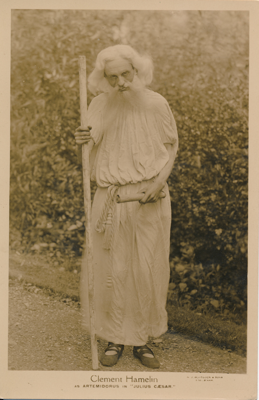 "Clement Hamelin as Artemidorus in ""Julius Caesar"""