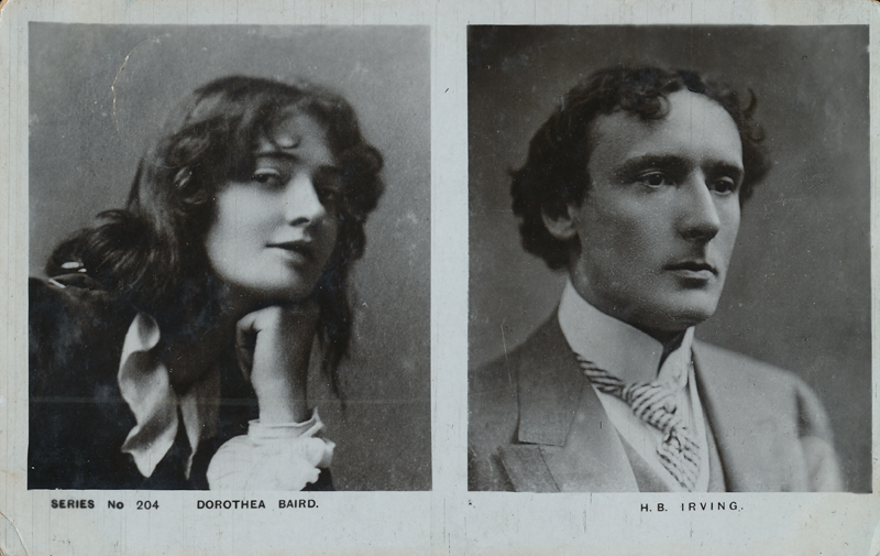 Dorothea Baird and H.B. Irving