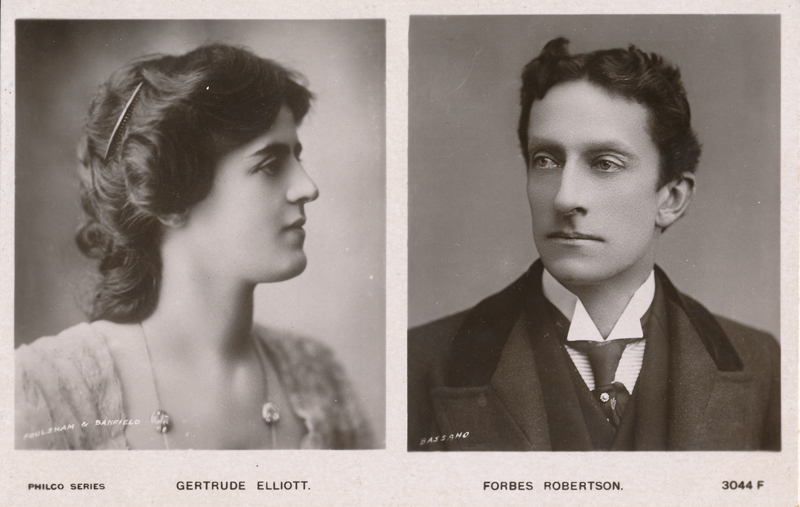 Gertrude Elliott and Johnston Forbes-Robertson