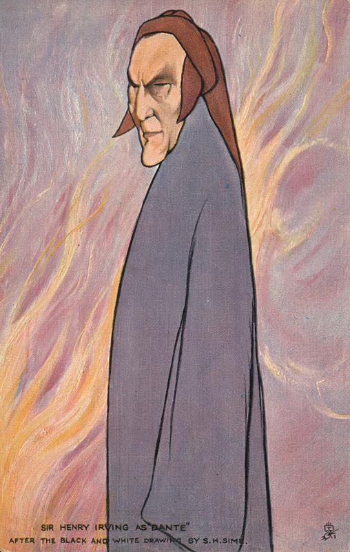Sir Henry Irving as Dante