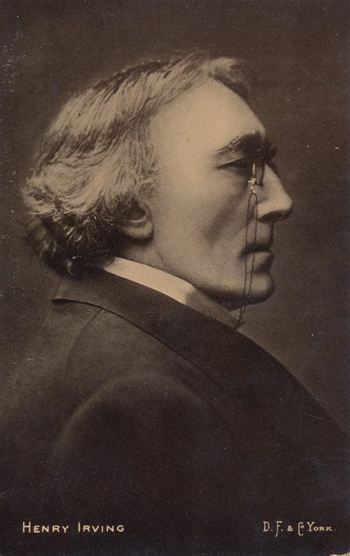 Portrait of Sir Henry Irving