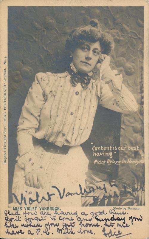 Miss Violet Vanbrugh