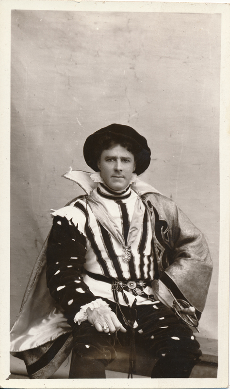 Gerald Lawrence in a role in an unidentified play